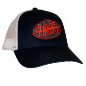 Chase Bryant Navy and White Ballcap- Constructed