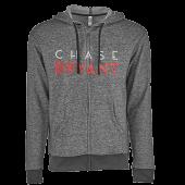 Chase Bryant Black Zip Up Hoodie