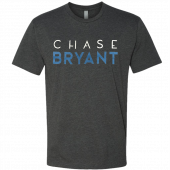 Chase Bryant Charcoal Logo Tee